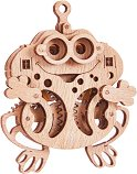 Жабче - Механичен 3D дървен пъзел - пъзел