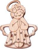 Ангелче - 3D дървен пъзел -