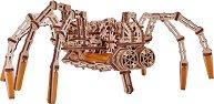 Тарантула - Механичен 3D дървен пъзел - пъзел
