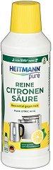 Течна лимонена киселина за почистване - Heitmann Pure - Разфасовка от 500 ml - продукт