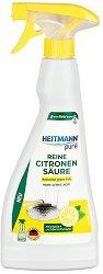 Спрей лимонена киселина за почистване - Heitmann Pure - Разфасовка от 500 ml - продукт