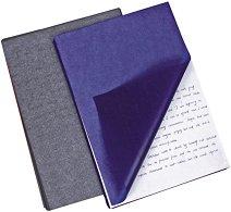 Индиго хартия за ръкопис