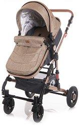 Бебешка количка 2 в 1 - Alba Set 2020 - С 4 колела -