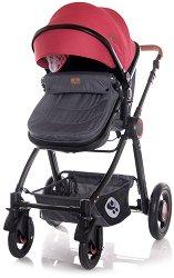 Бебешка количка 2 в 1 - Alexa Set 2020 - С 4 колела -