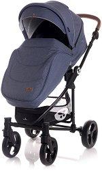 Бебешка количка 3 в 1 - Crysta -