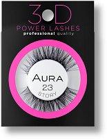 Aura 3D Power Lashes Story 23 - Изкуствени мигли с 3D ефект -