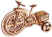 Велосипед - Механичен 3D дървен пъзел - пъзел