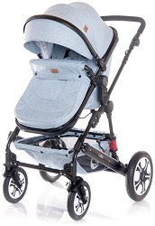 Бебешка количка 2 в 1 - Lora Set 2020 - С 4 колела -