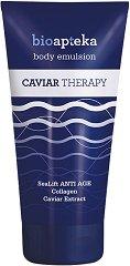 Bio Apteka Caviar Therapy Body Emulsion - Емулсия за тяло с екстракт от хайвер -