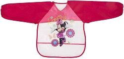 Лигавник с ръкави и джоб - Minnie - За бебета над 6 месеца - количка