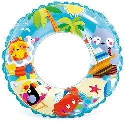Надуваем детски пояс  - Плаж -