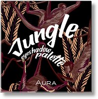 Aura Jungle Eyeshadow Palette - Палитра сенки за очи с 9 цвята -