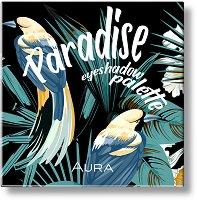 Aura Paradise Eyeshadow Palette - Палитра сенки за очи с 9 цвята - продукт