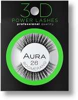 Aura 3D Power Lashes Boomerang 26 - масло