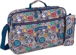 Чанта за рамо - Gabol: Planet - Комплект с несесер -