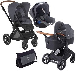 Бебешка количка 3 в 1 - Muum Koos iSize Micro 2019 - С 4 колела -