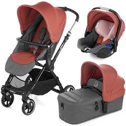 Бебешка количка 3 в 1 - Kendo Koos iSize Micro 2019 - С 4 колела -