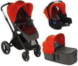 Бебешка количка 3 в 1 - Kawai Koos iSize Micro 2020 - С 4 колела -