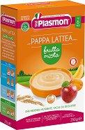 Plasmon - Инстантна млечна каша с микс от плодове - Опаковка от 250 g за бебета над 6 месеца -