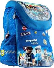 Ученическа раница - Playmobil: Police -