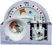 Детски комплект за хранене - Erik - За бебета над 6 месеца -