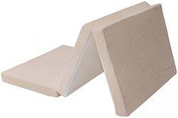 Сгъваем матрак за бебешко креватче - Velvet - С размери 60 x 120 cm -