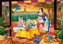 """Романтична вечеря в Париж - Пъзел от колекцията """"Мики Маус"""" - играчка"""