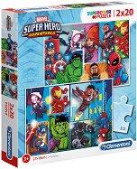 Супер герои - пъзел