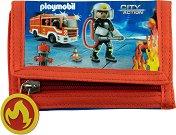 Детско портмоне - Playmobil: Firefighters -