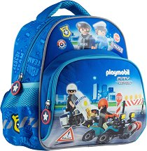 Раница за детска градина - Playmobil: Police - раница