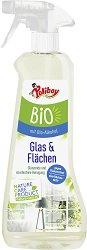 Почистващ препарат за стъкло с био алкохол - Poliboy Bio - ластик