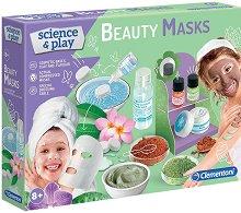 """Направи сама - Маски за лице - Образователен комплект от серията """"Clementoni: Science"""" -"""