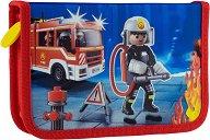 Ученически несесер - Playmobil: Firefighters -