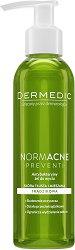 Dermedic Normacne Antibacterial Cleansing Gel - Почистващ гел за лице за мазна, комбинирана и склонна към акне кожа - лосион