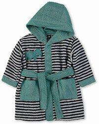 Бебешки халат за баня - Kuschelzoo: Tapsi - 100% памук за бебета от 9 до 12 месеца -
