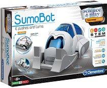"""Робот - SumoBot - Образователен комплект от серията """"Clementoni: Science"""" -"""