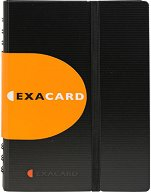 "Визитник - Exacard - За 120 визитки от серия ""Exactive"""