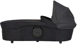 Кош за новородено за второ дете - Twin Carrycot: Night Black - количка