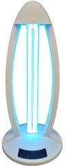 Ултравиолетова гермицидна лампа за стерилизация на място - BM 1403 - С дистанционно управление -