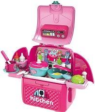 Кухня - Детски комплект с аксесоари в раница -