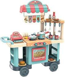 Щанд за храна - Комплект детски играчки -