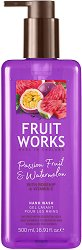 Fruit Works Passion Fruit & Watermelon Hand Wash - Течен сапун с аромат на маракуя и диня - спирала