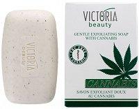 Victoria Beauty Cannabis Gentle Exfoliating Soap -
