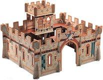 Средновековен замък - 3D пъзел -
