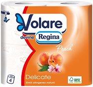 Тоалетна хартия с аромат на праскова
