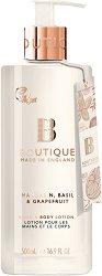 Boutique Mandarin, Basil & Grapefruit Hand & Body Lotion - Лосион за ръце и тяло с аромат на мандарина, босилек и грейпфрут -