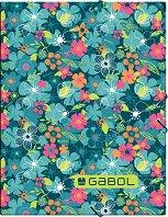 Папка с ластик - Gabol: Aloha - Формат А4 - продукт