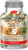 Purederm Red Ginseng Essence Face Mask -