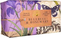 English Soap Company Bluebell & Rosemary - Луксозен сапун с аромат на зюмбюл и розмарин -
