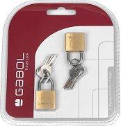 Катинарчета с ключета - Gabol - Комплект от 2 катинарчета и 6 ключета -